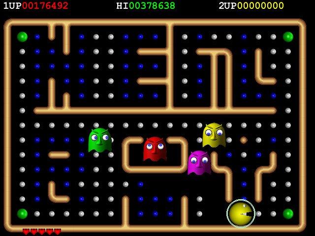 Spil verdens største Pac-Man i din browser