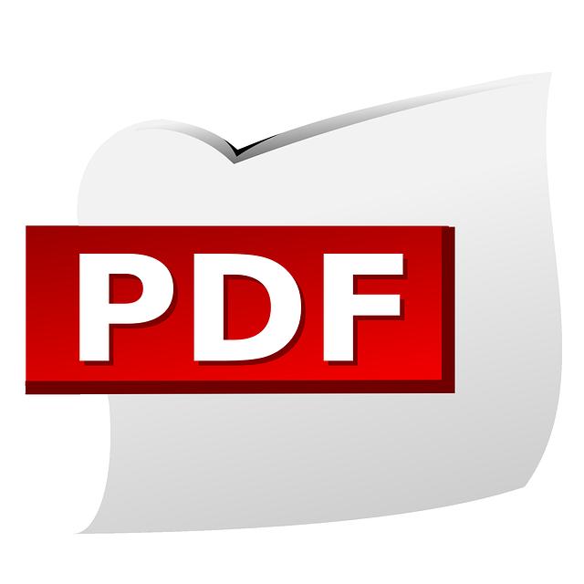 Gem dine dokumenter i PDF formatet
