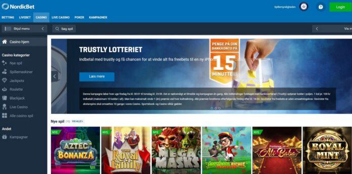Gratis casino spins hos NordicBet